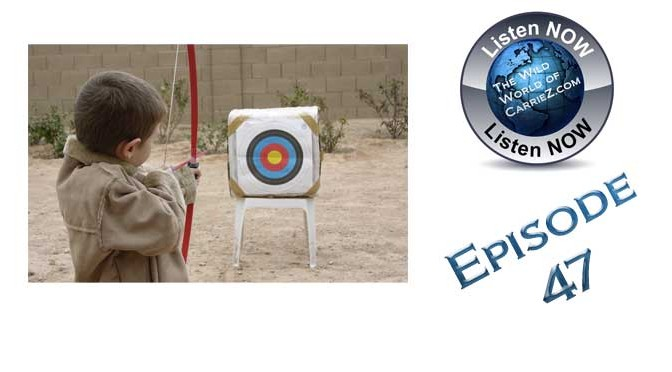 #HuntFishTravel 047 – Introducing Your Young Child to the Sport of Archery
