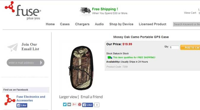 Product Review: Fuse Products Mossy Oak Portable GPS Case