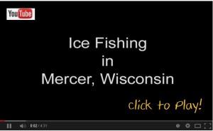 Ice Fishing in Mercer YouTube Image