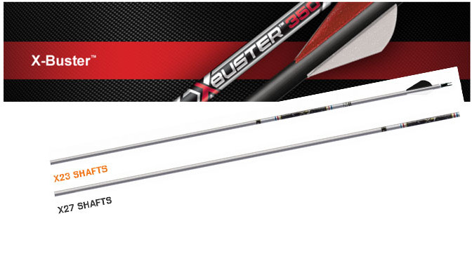 Gear Review: Carbon Express X-Buster and the X2 Series Easton Aluminum Arrows