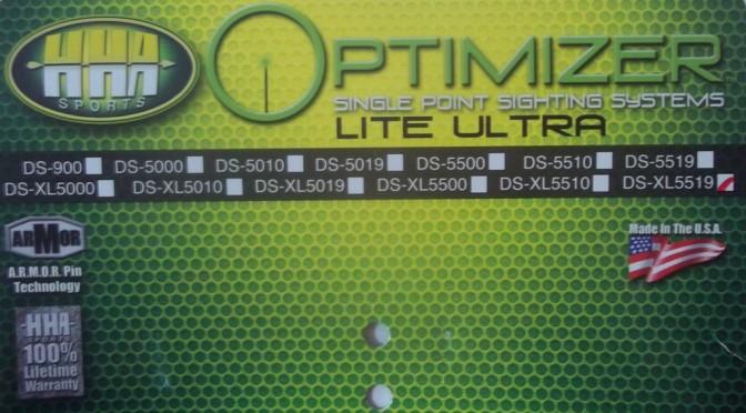 Gear review: HHA Optimizer Lite Ultra Series, Model DS-XL5519