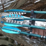 Vanes or Feathers for Traditional Archery Snowy Arrows