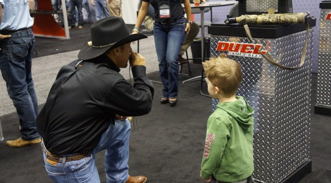 The Archery Trade Show From A 3 Year Olds Perspective #ATA2015 #ATA #Hunting #Archery