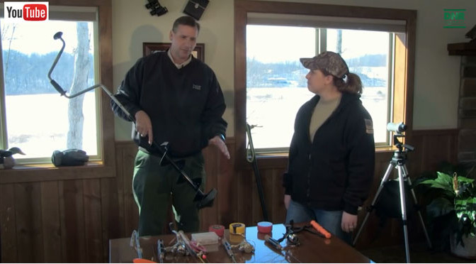 Video: Ice Fishing for Bluegill