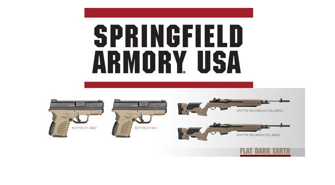 Springfield Armory® Releases Flat Dark Earth