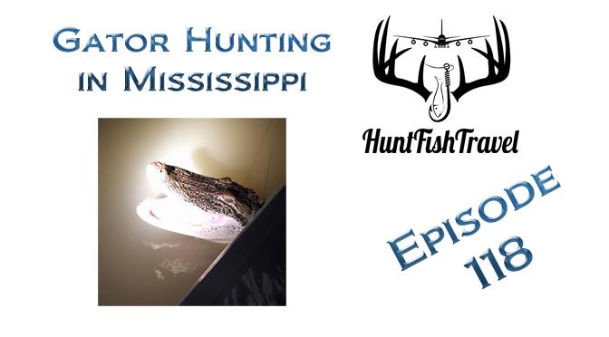 Gator Hunting in Mississippi