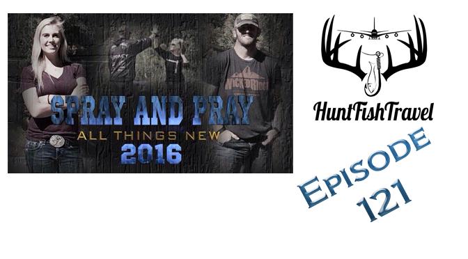 #HuntFishTravel 121 – Interview with Patrick Flanigan, Turkey Hunting and Hilariously Random Subjects