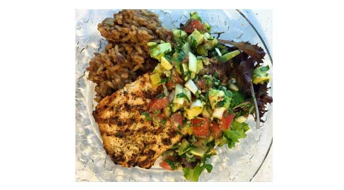 Grilled Fish with Citrus Dill