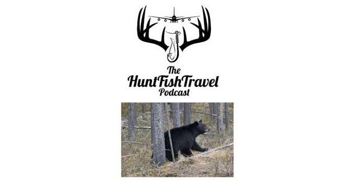 #HuntFishTravel 162 – Hunting Black Bear with Michelle Harmes Outdoors in Maine