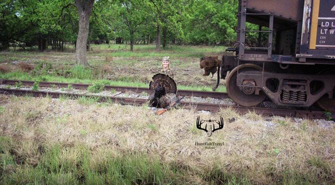 Carrie Zylka - Hunt Fish Travel - A Hail Mary Kansas Turkey Hunt - Grand Osage