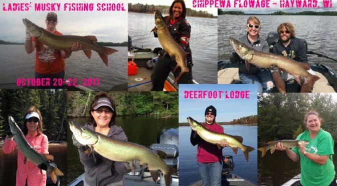 Ladies' Musky Fishing School