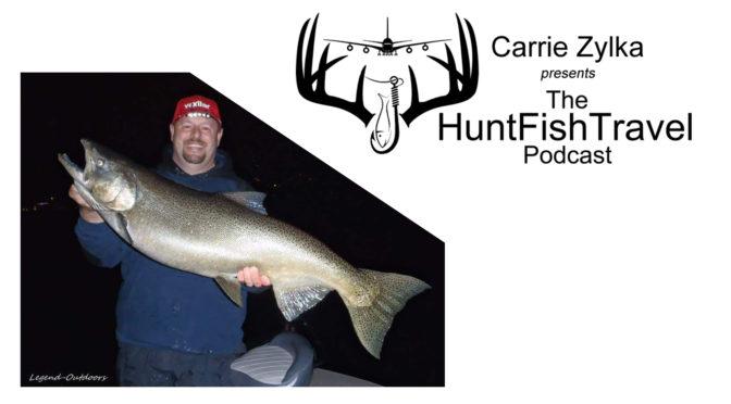 Fall Salmon Fishing in Wisconsin with Cory Yarmuth