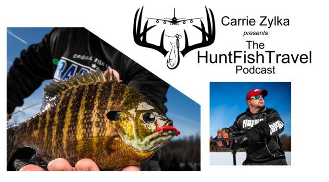 #HuntFishTravel Ep 200 – Ice Fishing Weed Beds for Bluegills with Joel Nelson Outdoors